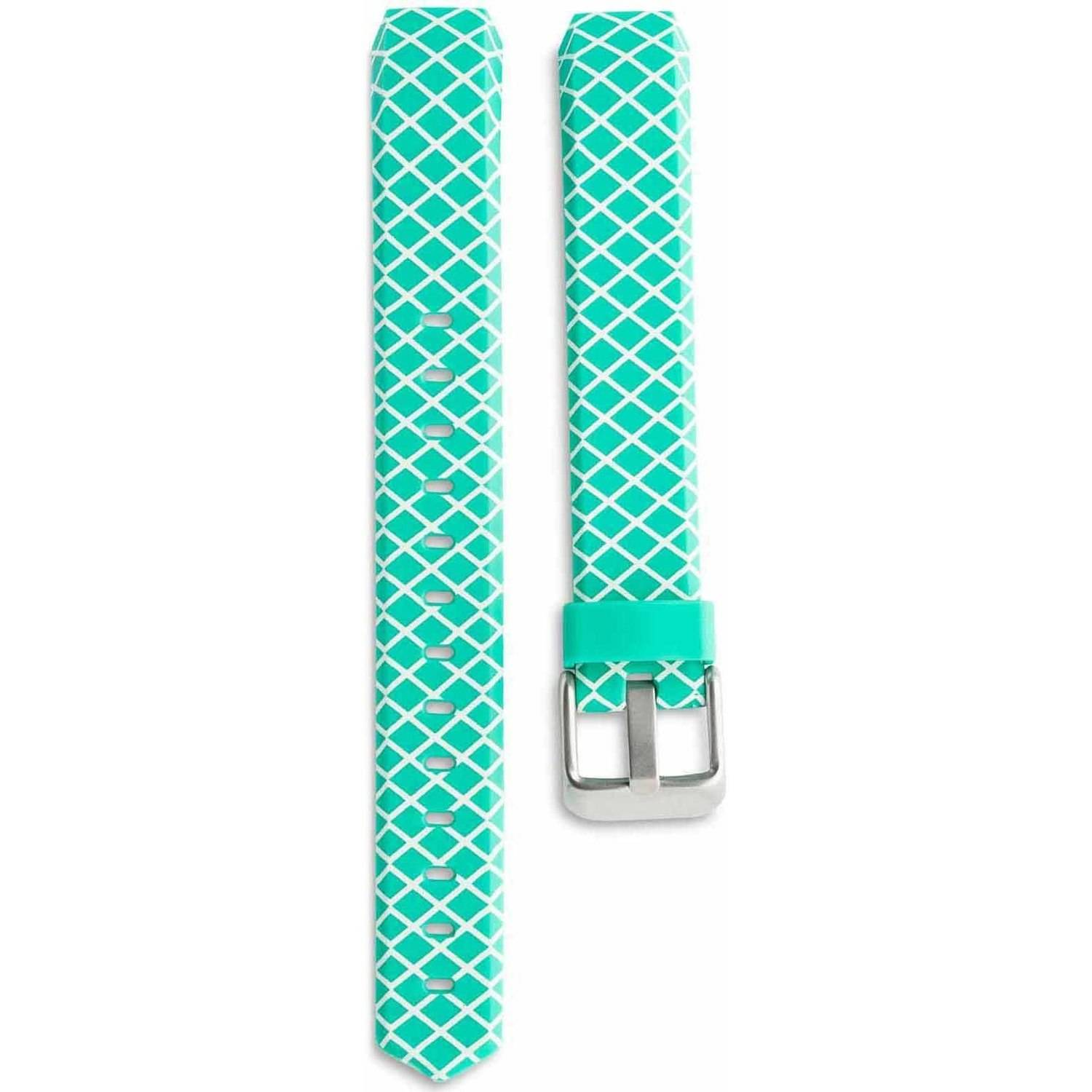 ONN* Adjustable FITBIT ALTA Metal Buckle REPLACEMENT BAND TEAL NEW