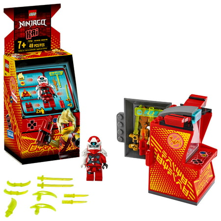 LEGO NINJAGO Kai Avatar Arcade Pod Mini Arcade Machine Building Set 71714