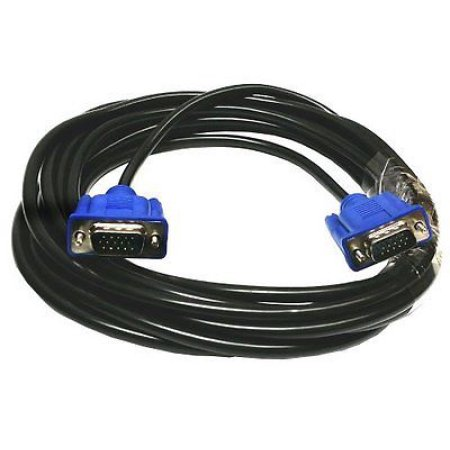 6 feet M-M SVGA Super VGA M/M Cable Adaptor Monitor Projector HD15 Male to Male