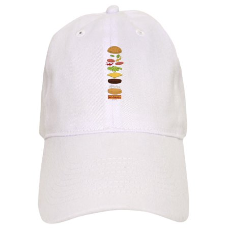 CafePress - Bob's Burgers Stacked Burger - Printed Adjustable Baseball -