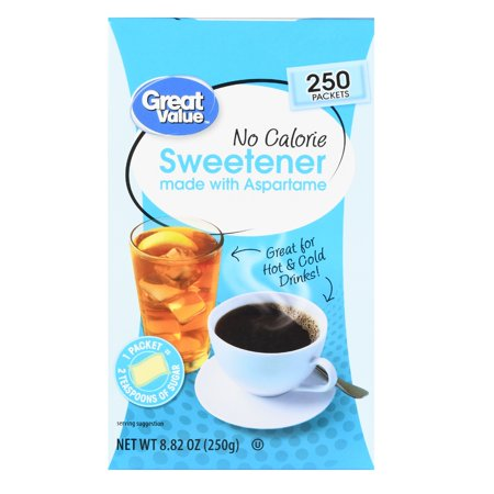 Great Value No Calorie Sweetener  250 Count