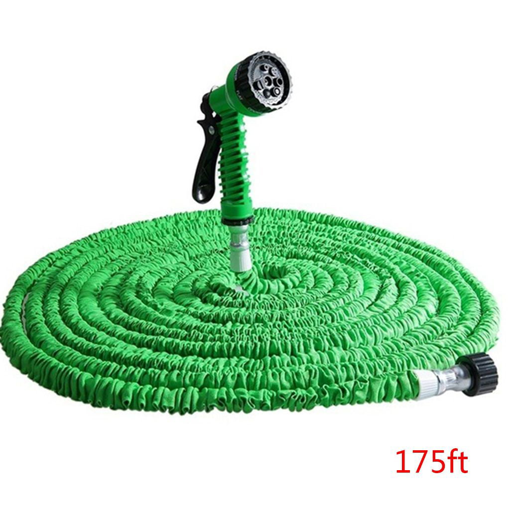 175ft 200ft Garden Hose Expandable Flexible Water Hose Plastic Hoses Pipe with Watering Spray for Home by
