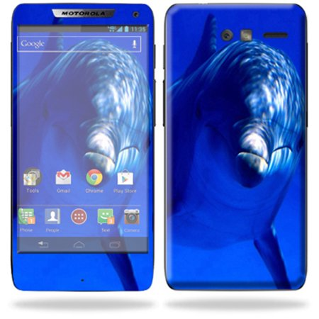 Mightyskins Protective Skin Decal Cover for Motorola Droid Razr M Cell Phone Sticker Dolphin