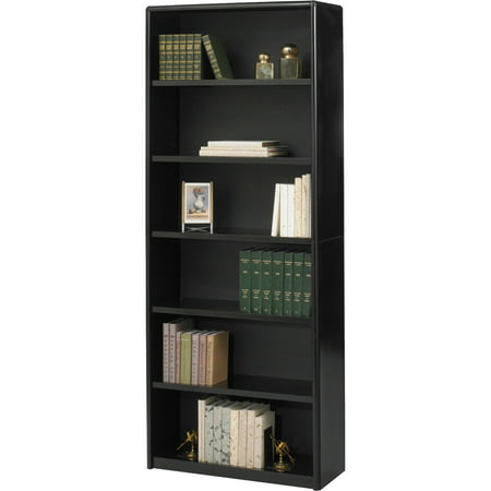 Safco, SAF7174BL, Value Mate Bookcase, 1 Each, Black