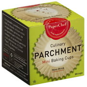 Paper Chef Culinary Parchment Baking Cups, Mini, 90 count, (Pack of 12)