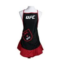 UFC APRON HOSTESS LOGO BLACK