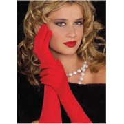 Adult 18 Inch Red Nylon Gloves Jacobson Hat 18992