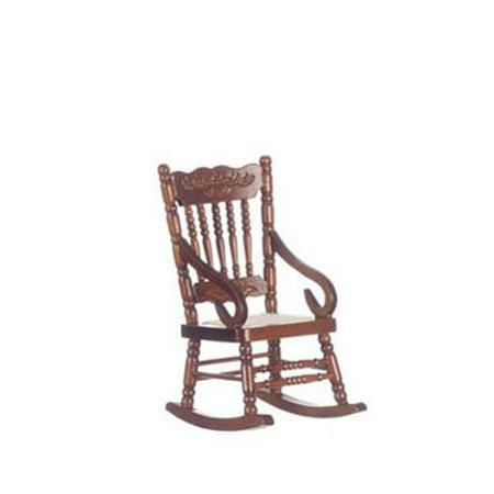 Dollhouse Rocking Chair, Walnut