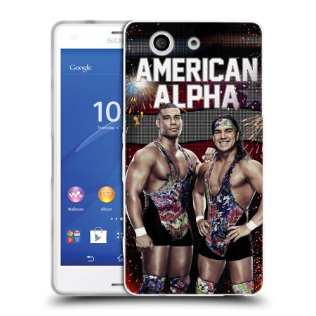 Official Wwe American Alpha Soft Gel Case For Sony Phones 1