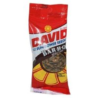 David Sunflower Seeds, Barbecue, 1.625-Ounce Unpriced Tubes (Pack of 12)