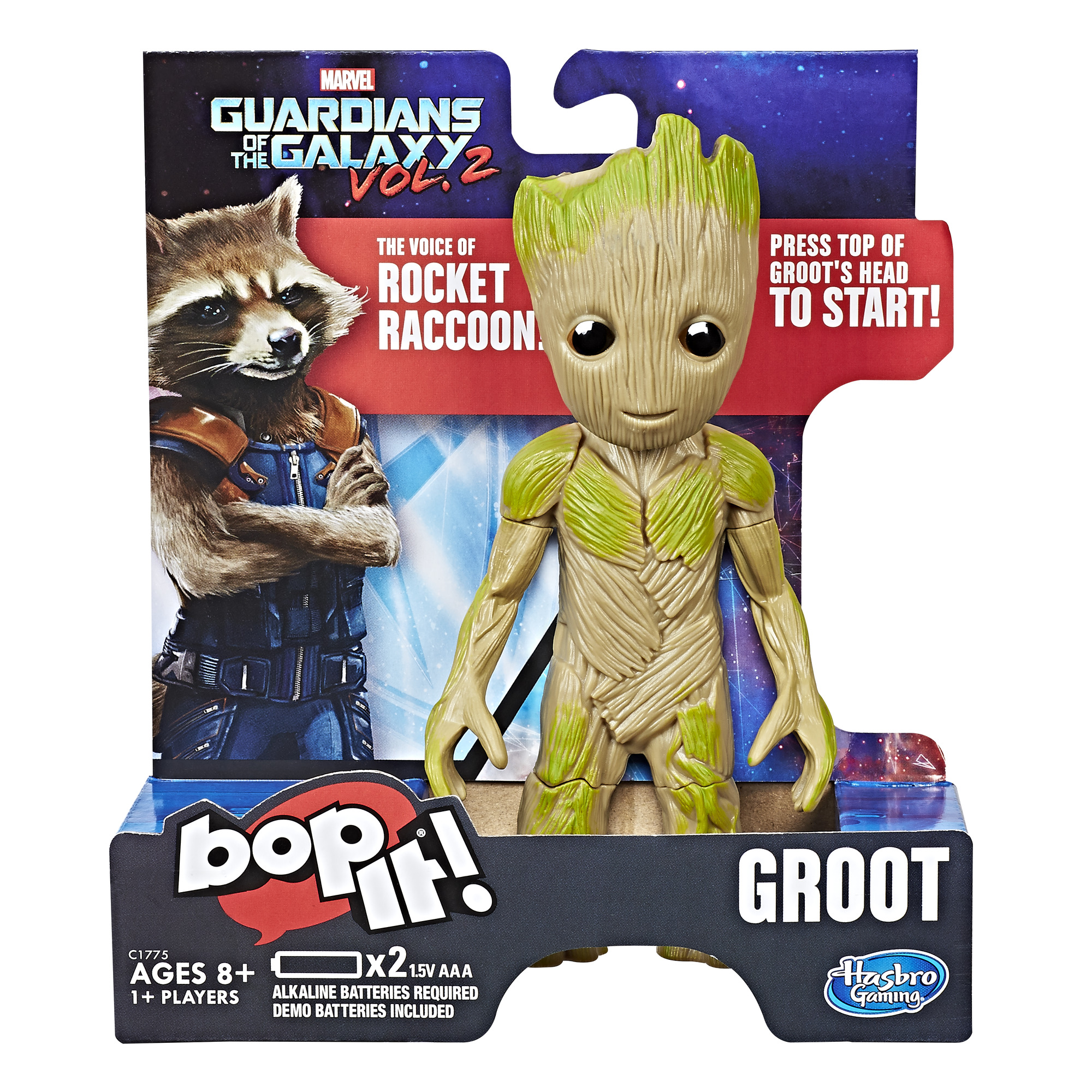 Bop It! Game: Marvel Guardians of the Galaxy Vol. 2 Groot Edition