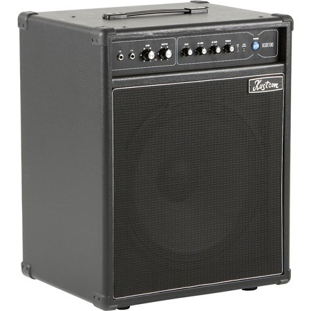 Kustom KXB100 100W 1x15 Bass Combo Amp Black (Kustom Amps 30)