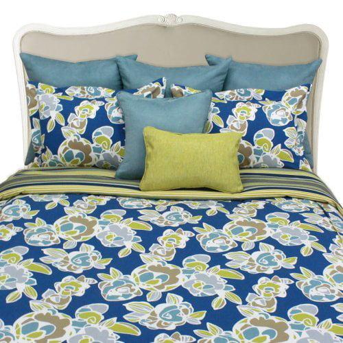 Chooty & Co. Gardenia Bluebird Duvet Set