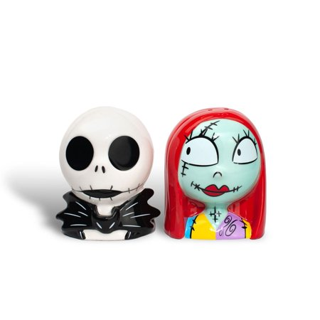 OFFICIAL Nightmare Before Christmas Salt & Pepper Shakers | Jack & Sally