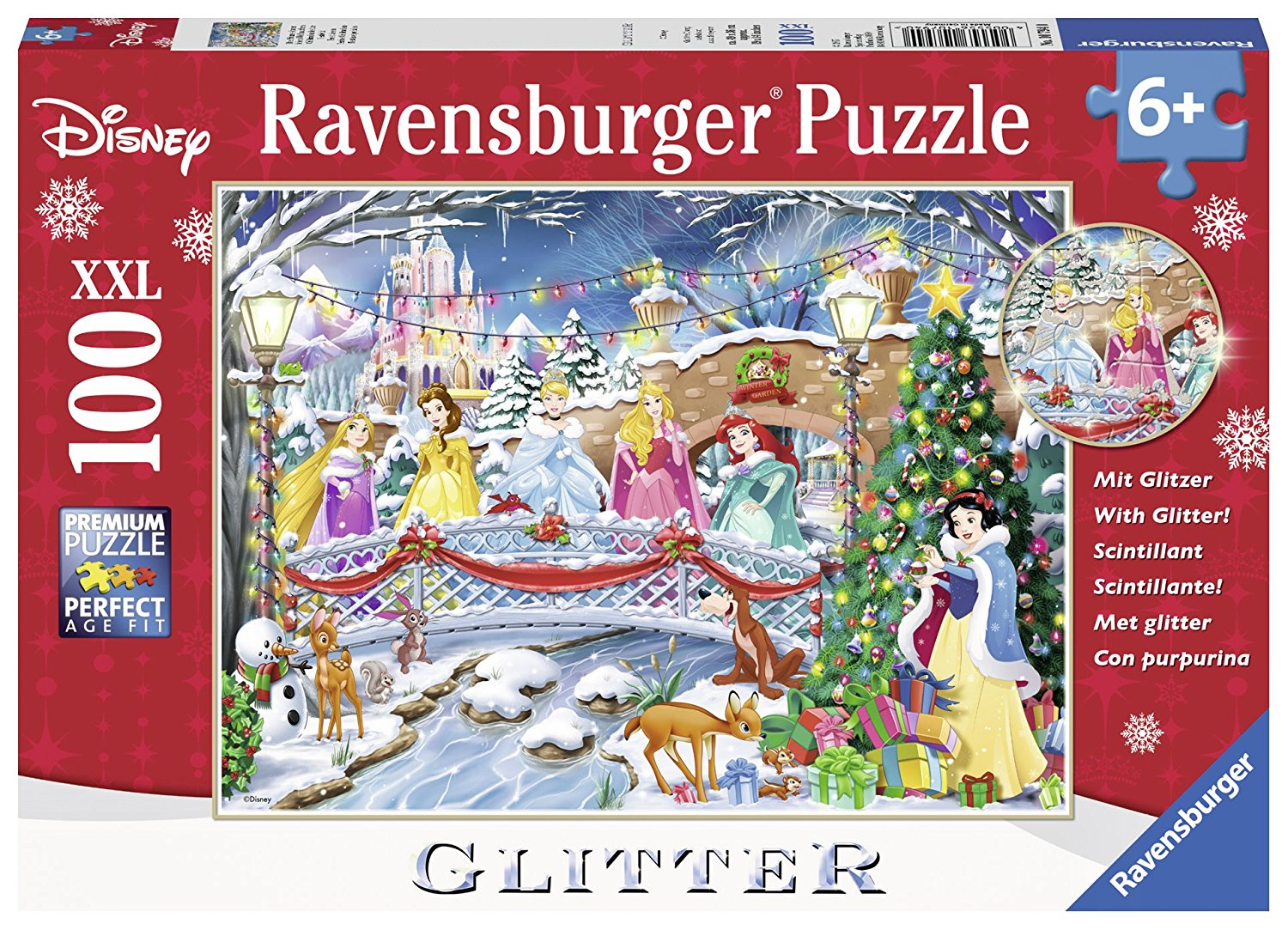 XXL Dreamy Kitten Puzzle for 6+, 100 piece childs age 6+ puzzle By Ravensburger by