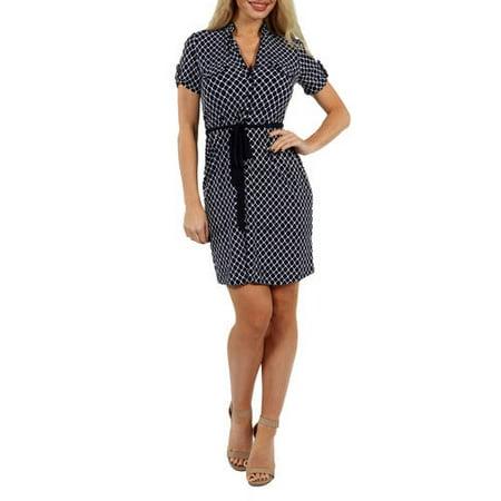 24/7 Comfort Apparel Women's Roving Reporter Dress