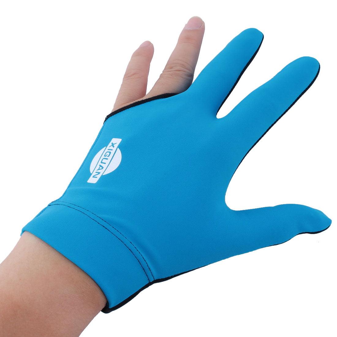 1 Piece Three Finger Billiards Gloves Pool Cue Gloves Men Women Sports