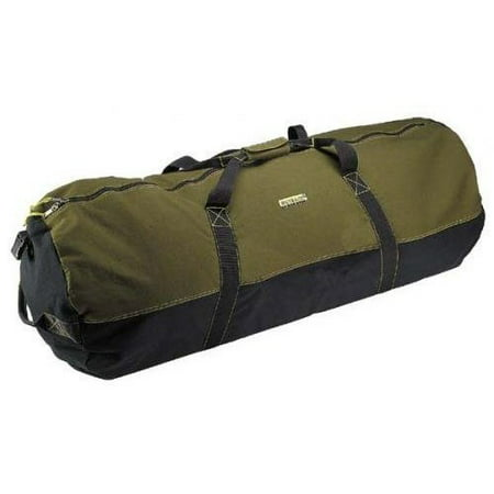 Ledmark Heavyweight Cotton Canvas Outback Duffle Bag, Giant 48