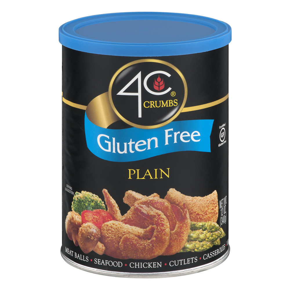 4C Crumbs Gluten Free Plain, 12.0 OZ