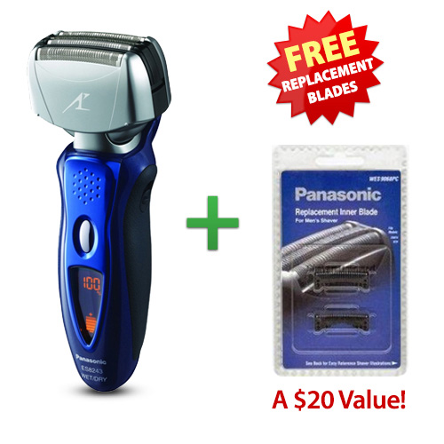 Panasonic ES8243A Mens Arc IV Wet / Dry Shaver With Replacement Blade