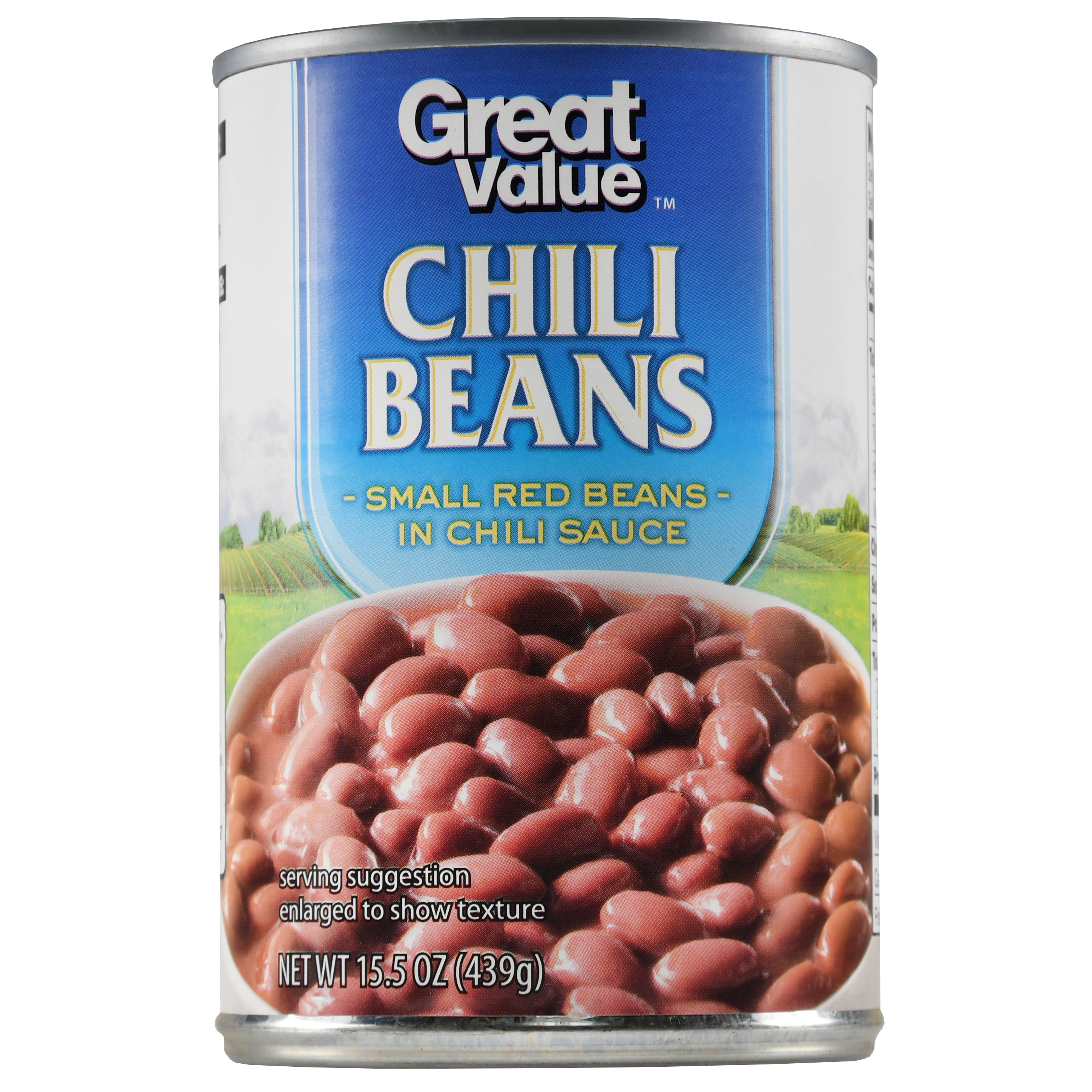 Great Value Chili Beans, Canned, 15.5 oz - Walmart.com