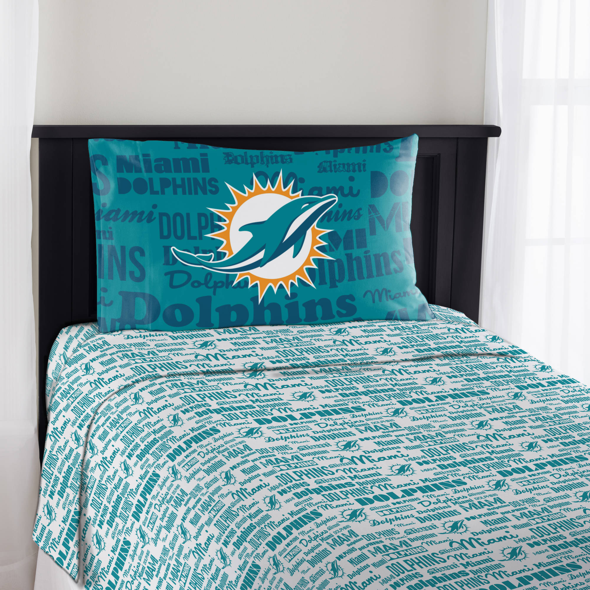 "NFL Miami Dolphins ""Anthem"" Sheet Set"