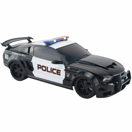 1969 Ford 302 - 1/18 Scale Radio Remote Control Ford Mustang  Muscle Car Police Cruiser R/C