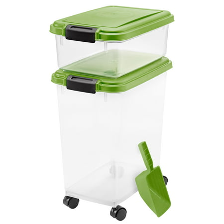 IRIS Combo Food Storage Container with Scoop, 10.8
