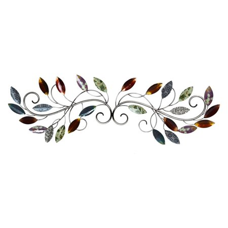 Stratton Home Decor Multi Leaf Scroll Wall (Decorative Wall Scroll)