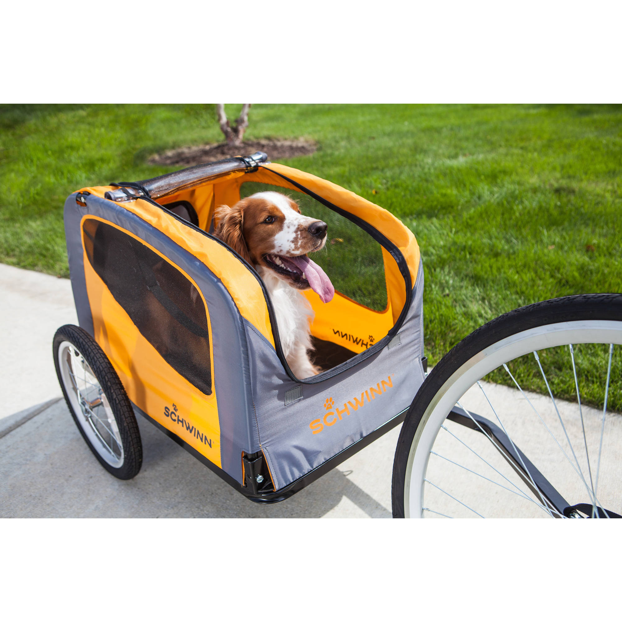 Schwinn Rascal Bike Pet Trailer, Orange