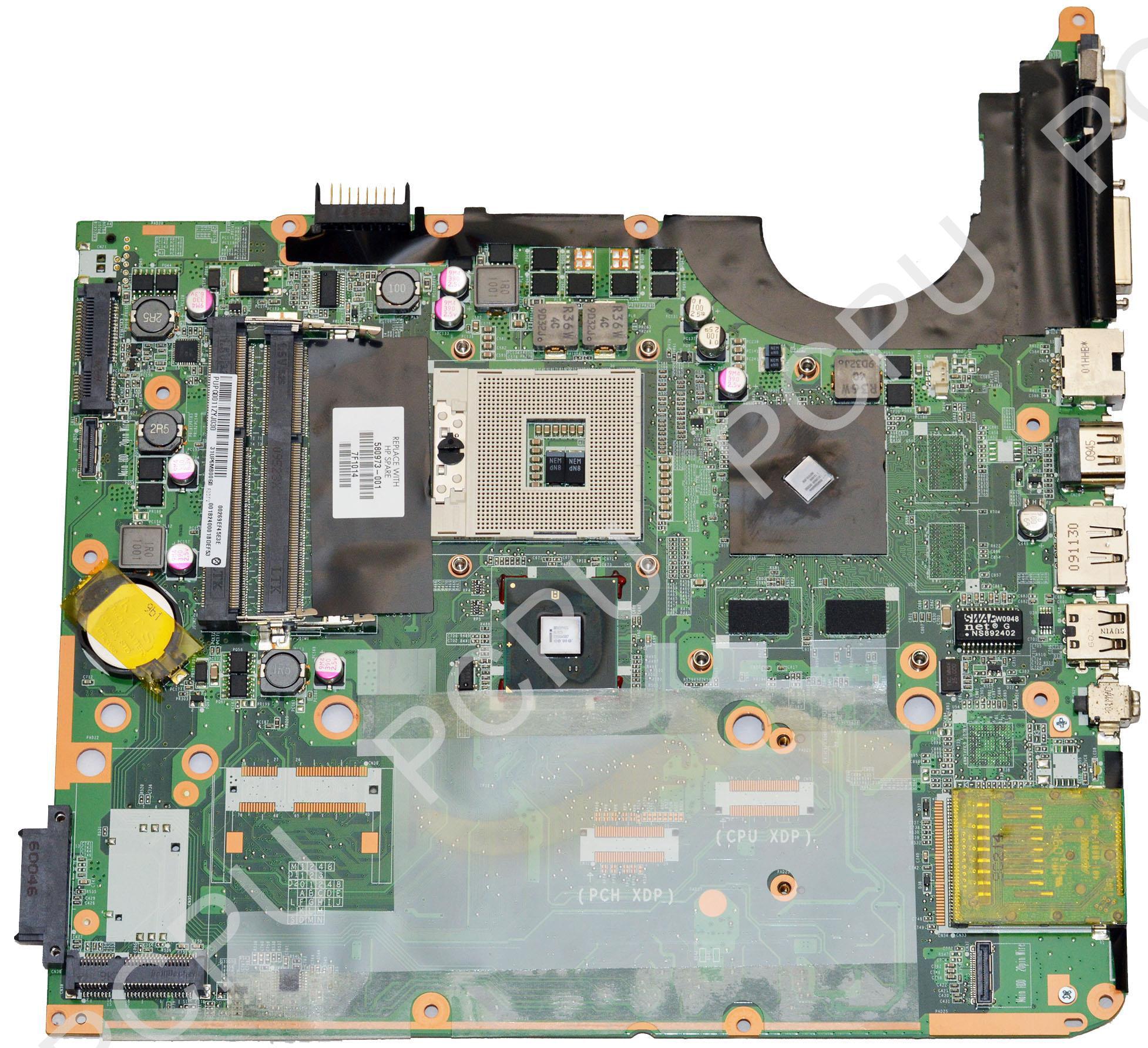 580973-001 HP Pavilion DV7-3000 G105M/512MB Intel Laptop ...