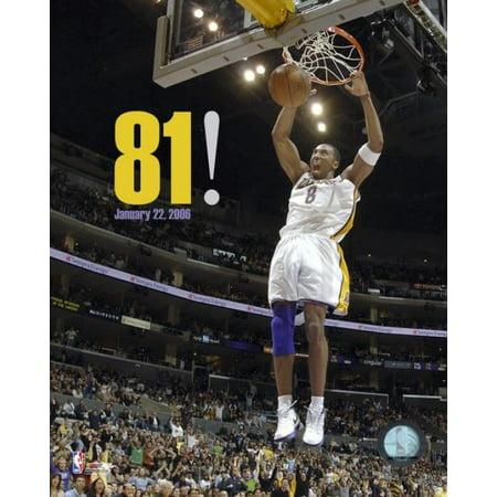 Kobe Bryant - Lakers 81 Point Game (12206) Photo Print (11 x