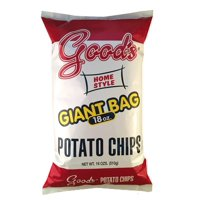 Good's Home Style Potato Chips Giant Bag, 18 Oz.