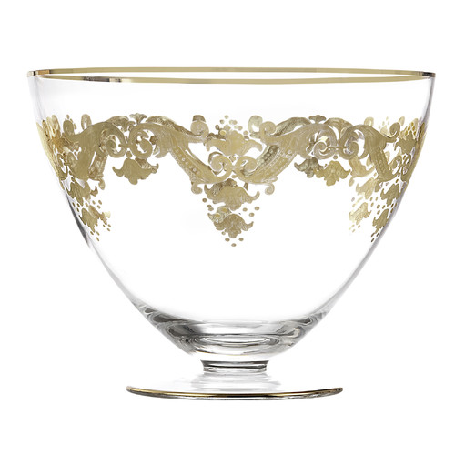 Classic Touch Vivid Salad Bowl by