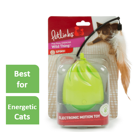 Petlinks® Wild Thing™ Electronic Motion Cat