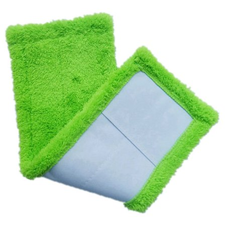 - Tuscom Home Cleaning Pad Coral Velet Refill Household Dust Mop Head Replacement