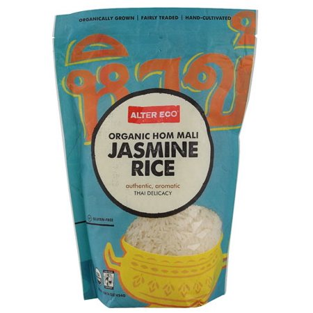 Alter Eco Fair Trade Organic Hom Mali White Jasmine Rice 16 Oz