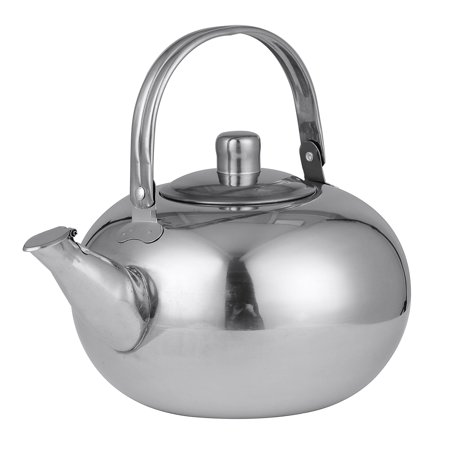 Meigar Tea Pot Stainless Steel Teapot with Lid Tea Kettle for Home Teapot with Tea (China With Lid Teapot)