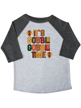 2b231ba63f Product Image Thanksgiving Gobble Time Turkey Toddler T-Shirt