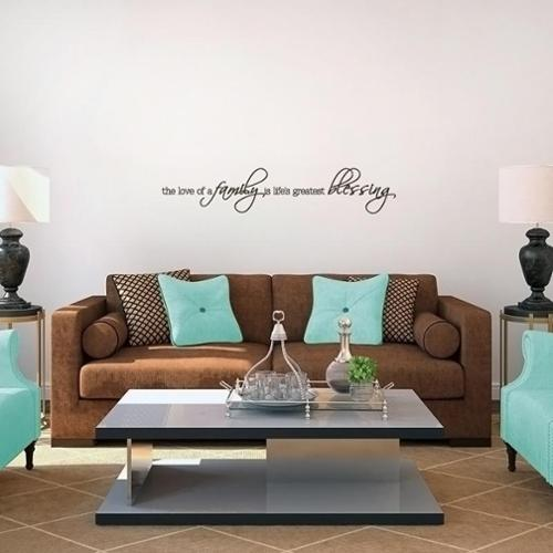 Sweetums Life's Greatest Blessing Wall Decal (36 x 7)