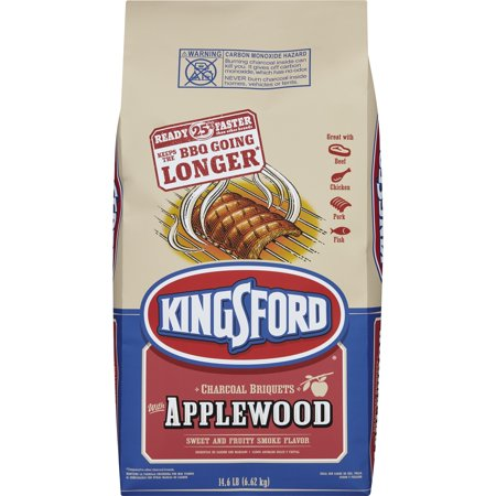 Kingsford Original Charcoal Briquettes with Applewood, 14.6 lbs