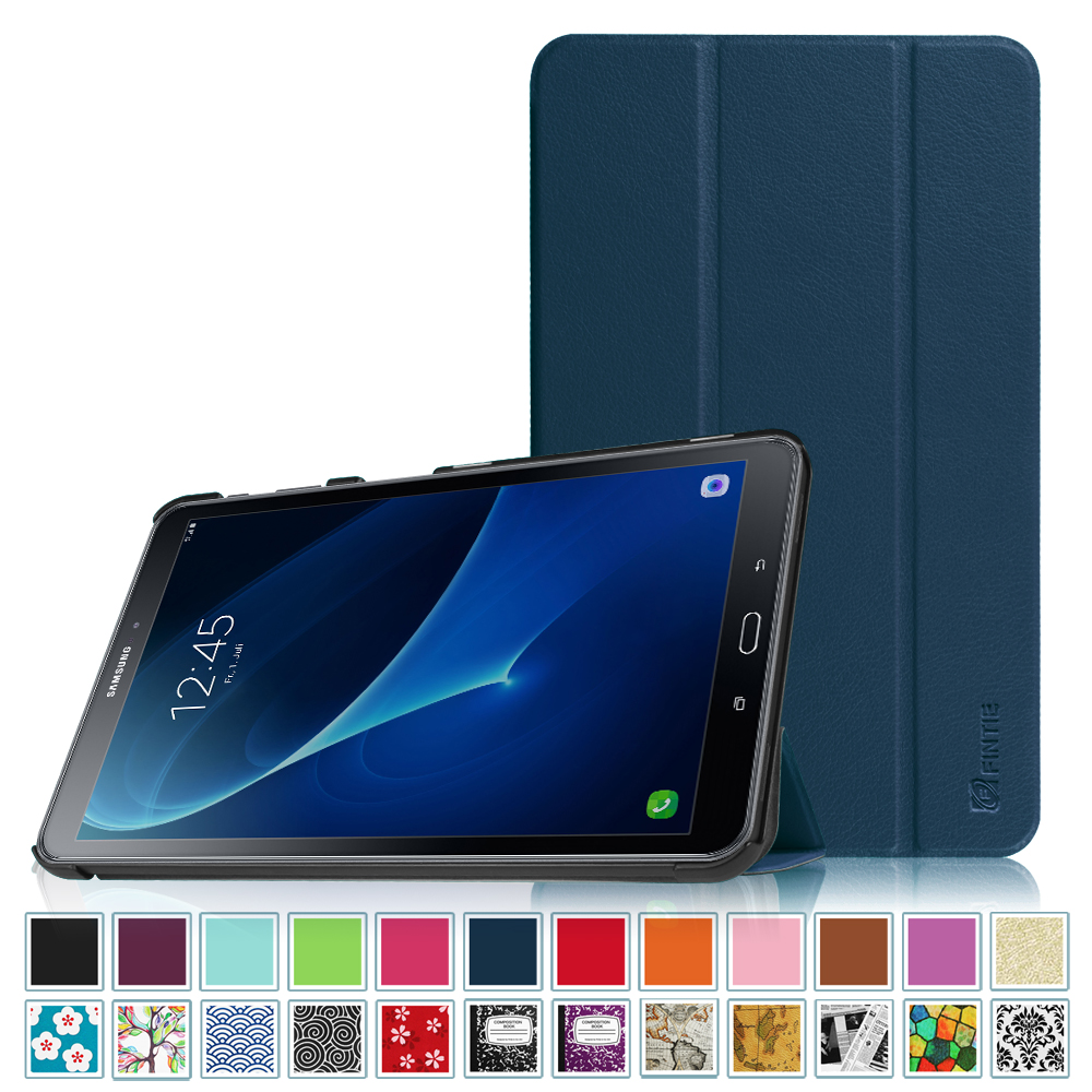 Fintie Case for Samsung Galaxy Tab A 10.1 SM-T580 / SM-T585 Tablet - Slim Lightweight Stand Cover,  Navy