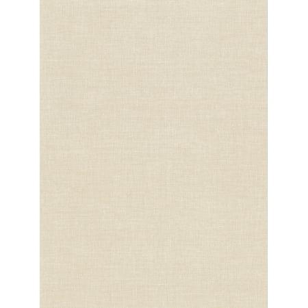 Warner Avatar Linen Cream Texture Wallpaper