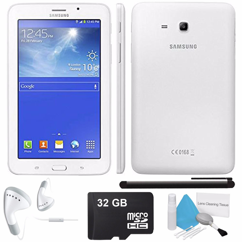 "Samsung Tab 3 V SM-T116 7"" 3G + WIFI Phone Tablet Black -..."