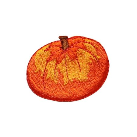 ID 0799A Pumpkin Patch Halloween Fall Harvest Embroidered Iron On Applique (Halloween Pumpkin Patch Phoenix)