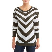 Deals on Heart N Crush Women's Striped Sweater