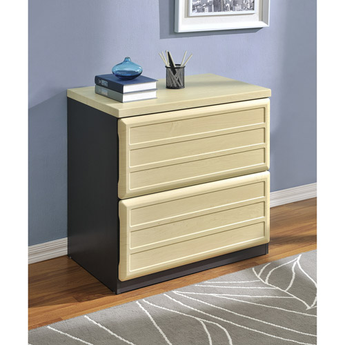 Ameriwood Home Pursuit Lateral File Cabinet, Light Brown/...