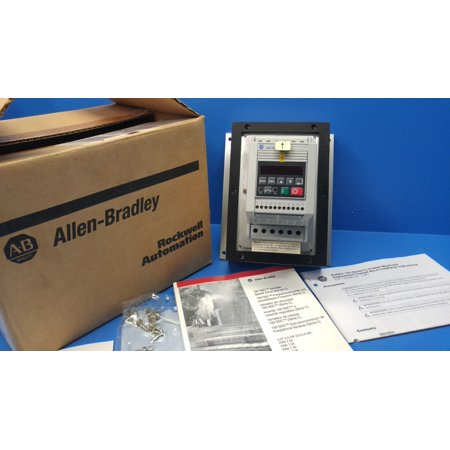 New Allen Bradley 160-BA01PPS1P1 SER. C 0.5HP FRN 7.06 Variable Speed Drive NIB