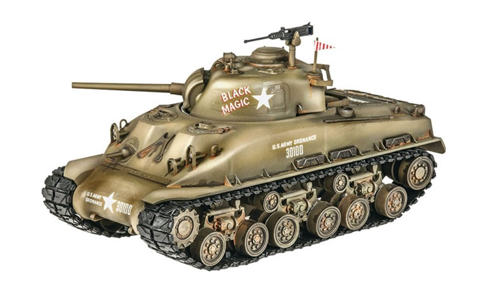 M4 Sherman Tank Model Kit Building By Revell by