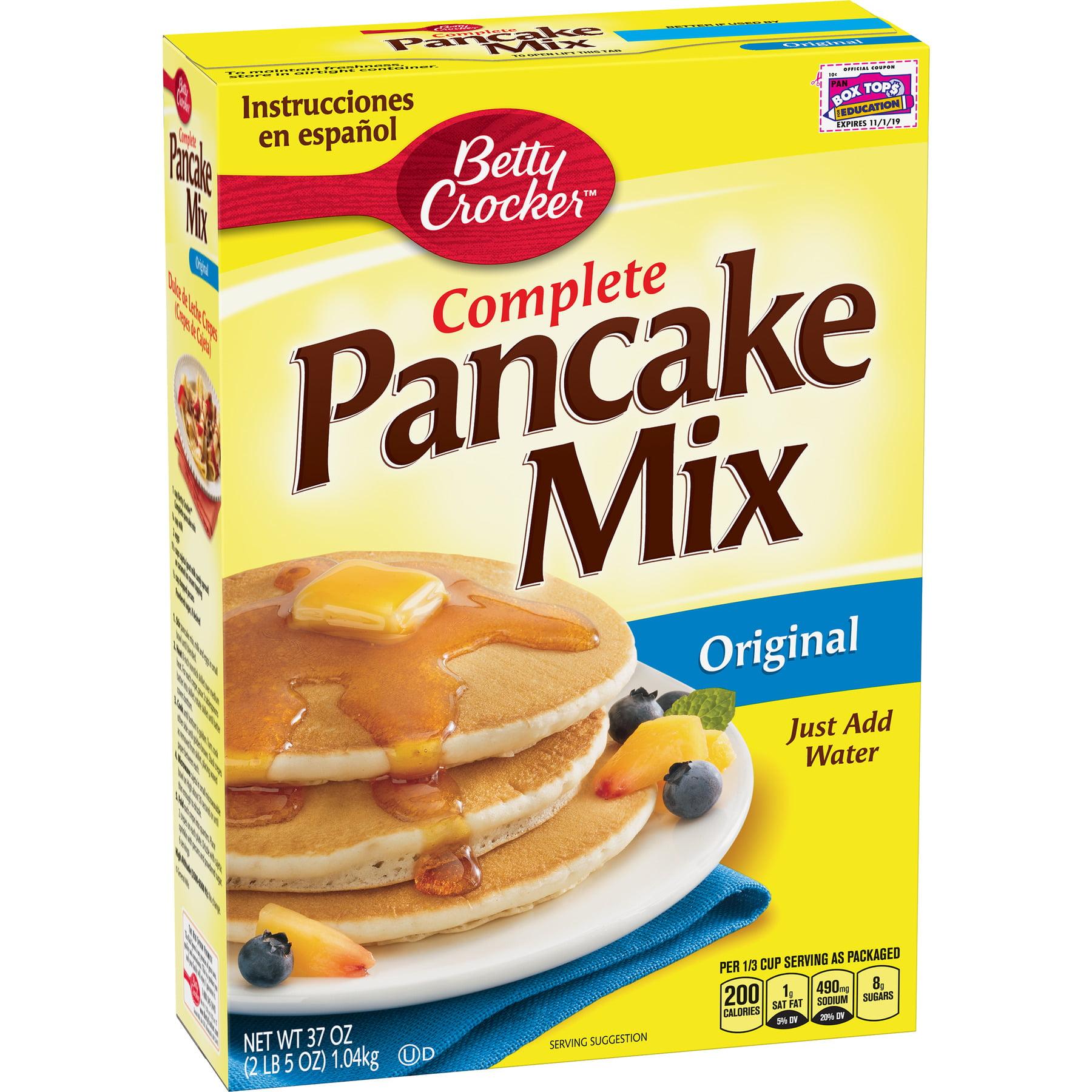 Betty Crocker Bisquick Baking Mix Complete Pancake Mix Original 37